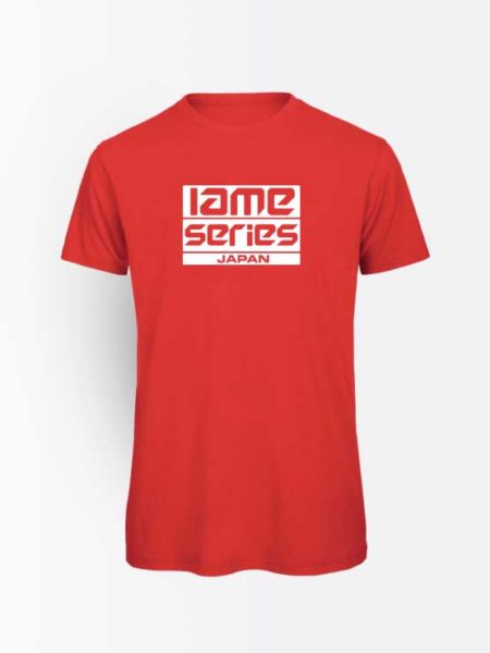 Iame Series Japan Official T-Shirt Red