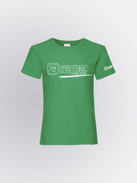 IAME Twist Green Girl tshirt