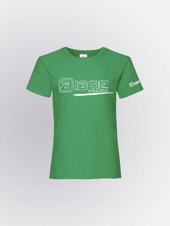IAME Twist Green Girl tshirt