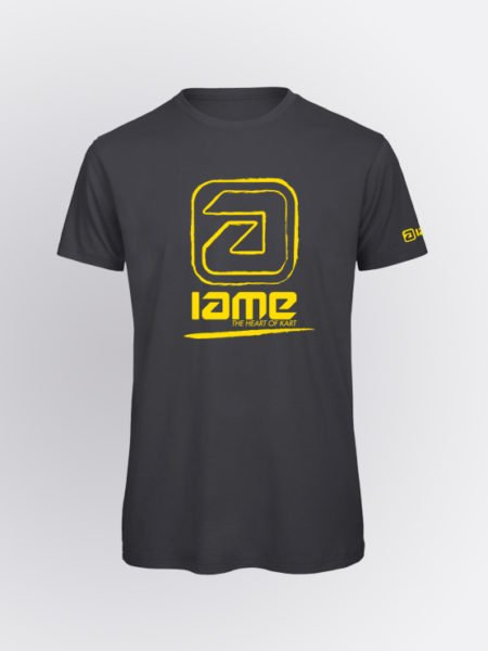 IAME Vibration Grey Yellow tshirt