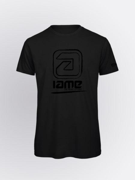 IAME Vibration black front tshirt-